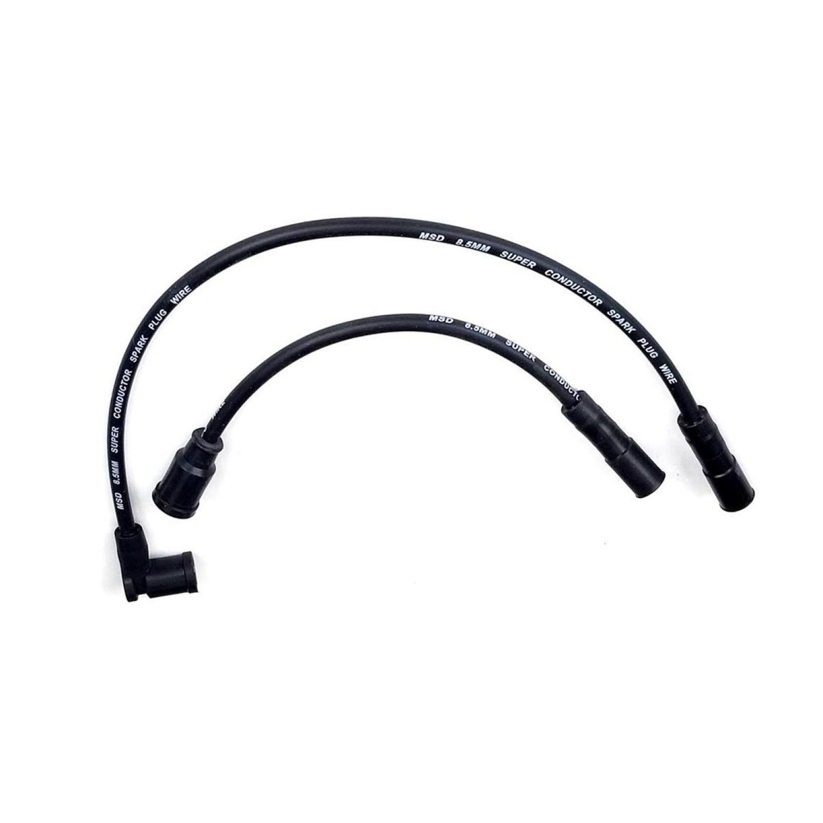 Spark Plug Wires Black Msd 8 5mm 2008